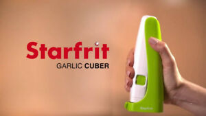 NEW: Starfrit Garlic Press and Cuber - $10 NO TAX