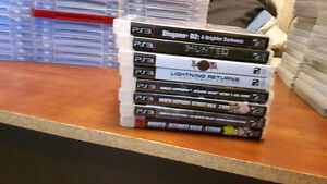 Assorted Ps3 Games 455$ for all or priced individually