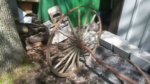 old wagon wheel with axcel for sale,