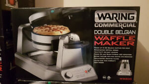 100%NEW WARING WAFFLE MAKERS & MORE SEE AD 4 INFO