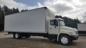 2008 HINO 338 AUTO 28ft BOX AIR RIDE ATTENTION MOVERS