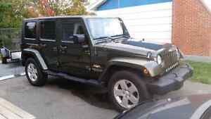 2007 Jeep Wrangler Unlimited Sell or Trade for CAN AM