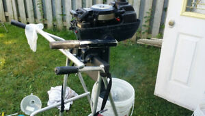 Evinrude 4hp OutBoard Motor excellent internal Tank