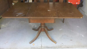 Duncan Phyfe Dining Set and Cabinet