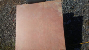 "10 boxes of commercial quality 24x24"" tiles"