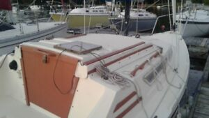 Spirit 6.5, a 22ft. swing keel trailerable sailboat