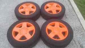 VW Jetta Golf Beetle rims and tires