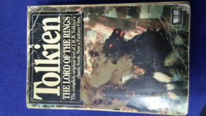JRR Tolkin the lord of the rings vintage book