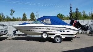 18 foot sea ray bow rider
