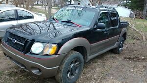 2004 Ford Explorer Sport Trac Pickup Truck