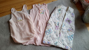 3 girls` sleeping bags –assorted sizes - $10
