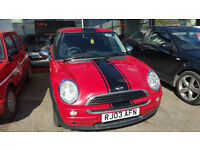 Mini Mini 1.6 One 3 DOOR - 2003 03-REG - NO MOT