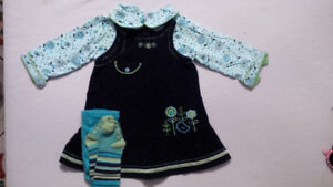 Lot of 6 - 12 Month Girl's Clothes