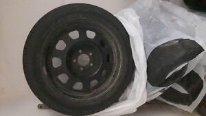 Set of 4 Winter tires, only used for 1.5 winters