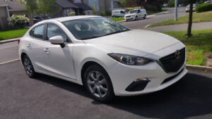 Mazda 3 Gx Sky active 2014 blanche manuelle