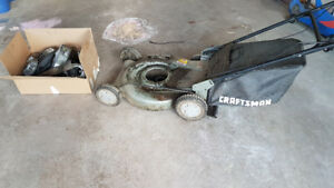 FREE CRAFTSMAN SELF PROPELLED MOWER FOR PARTS