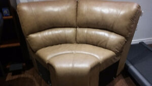 Brand New Leather Corner unit for sectional