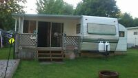 (INVEST NOW) For Sale Trailer on lake Erie in Campground $25,000