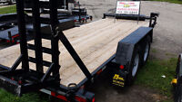 Heavy duty trailers for rent in Kitchener from $60  a day