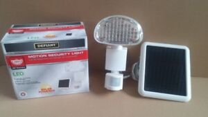 Defiant 48-Light White Outdoor Solar Powered LED Motion Activate