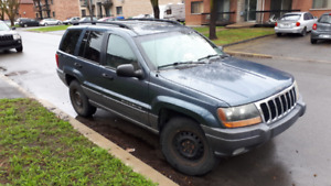 2001 Jeep Grand Cherokee Fourgonnette, fourgon