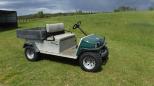 Golf cart, utility vehicle, electric Club Car, Carry All