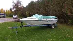 16 ft Sunray Bowrider with Trailer