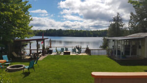 Family Friendly waterfront cottage for rent this summer