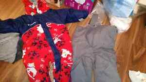 Snowsuit and ski pants