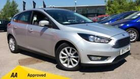 2017 Ford Focus 1.0 EcoBoost 125 Titanium (Nav Manual Petrol Hatchback