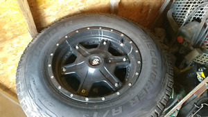 Ford F150 2012 new tires and rims Tpms