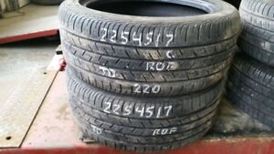 Pair of 2 Continental ContiProContact SSR (run-flat) 225/45R17 t