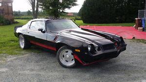 camaro z28 1980 restauré