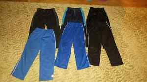 5 pairs of Boys size 6 & 6x active pants