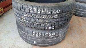 Pair of 2 Pirelli Scorpion Zero 235/45R20 tires (60% tread life)