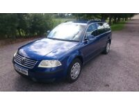 VW Passat 1.9 tdi with tow hitch