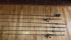 MY BASS ROD  INVENTORY IS TOOOO LARGE MUST MOVE IT