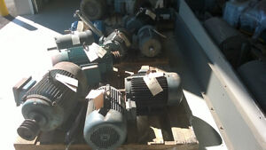 ELECTRIC MOTORS FOR SALE 0.33HP UP TO 50HP Kitchener / Waterloo Kitchener Area image 1