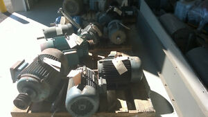 ELECTRIC MOTORS FOR SALE 0.33HP UP TO 50HP