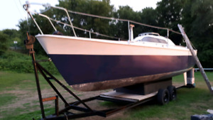Fast 30ft Lift Keel Boat with trailer launch!