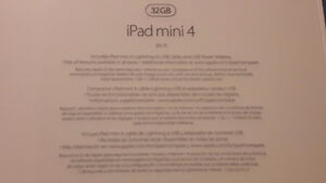 Apple IPad 4 Mini 32 Gb New