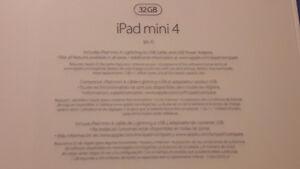 Apple IPad 4 Mini 32 Gb New