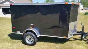 4x8 New 2017 V Nose Cargo Trailer 8' long 4' Wide   5 7 10 6 Edmonton Edmonton Area image 8