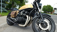 Honda CB 750f (SuperSport) modif Brat / Tracker / Cafe racer