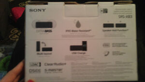 """Sony Bluetooth Speaker """"New"""" Cambridge Kitchener Area image 2"""