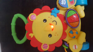 Fisher Price musical lion Walker $10