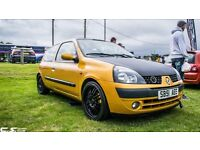 Clio 1.2 16v dynamique swap swaps not corsa cleo fiesta Astra, modified