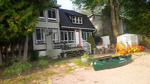 COTTAGE FOR RENT.SANDY BEACH FRONT.LAKE SIMCOE ORILLIA.ONT