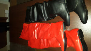 2 pairs of boots for sale
