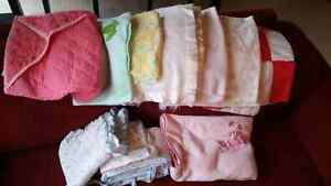 Baby blankets and bassinet bedding